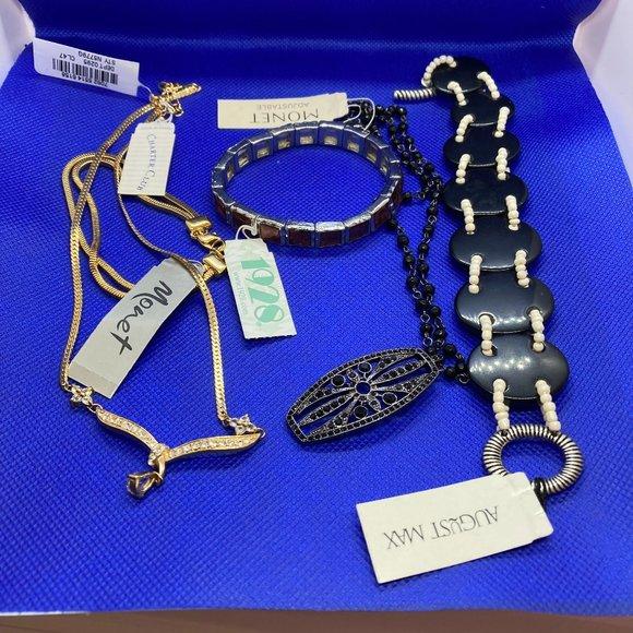3 Bracelets, 2 Necklaces, Name Brands, NWT